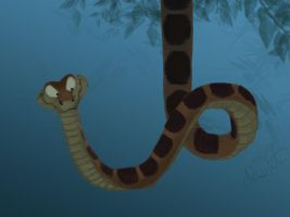Daily Sketch Challenge - Kaa by Eeddey