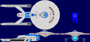 USS Glamdring Multi-View by captshade