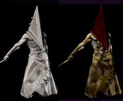 Pyramid Head Color job by locus21