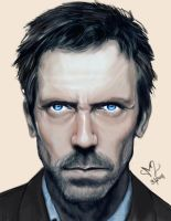 Hugh Laurie - Dr. House by MelloMarrero