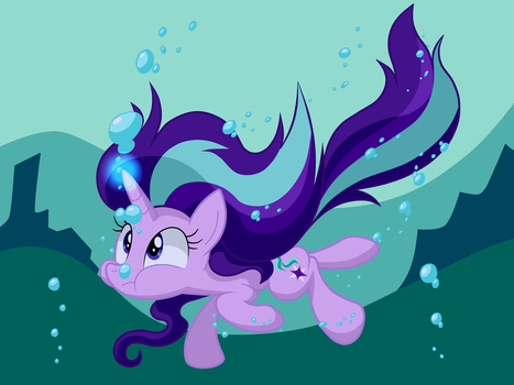 Swimming Glimmer by LOVEHTF421