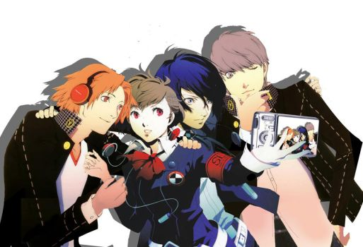 Persona 3 + 4 by aifseiei