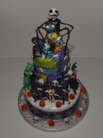 Nightmare Bef Christmas cake by reenaj