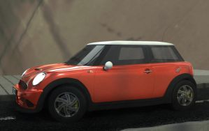 Mini Cooper II by gajdoslevente