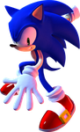 Sonic - Adventure 2 pose by mateus2014