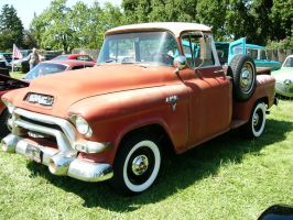 1956 GMC 100 pickup truck by RoadTripDog