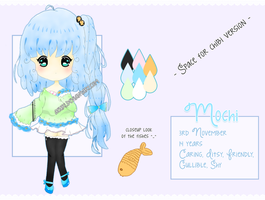 [OC] MOCHI REFERENCE SHEET by Aeuri