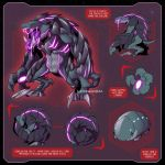 VOLTRON ROBEAST SUBMISSION :D by zillabean