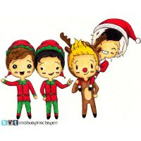 5 Seconds of Summer - Christmas by Sharsel
