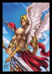 Angel Warrior - Final by FABIOMETALCORE