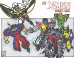Giant Size X-Men #1 mock cover by HooliganAlley