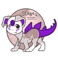 OC: Stego the Finnedyr! by c-Chimera