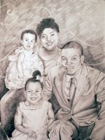 Family Portait Commission 03 by jmoneygetdown