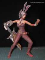 League of Legends - Battle Bunny Riven -papercraft by kotlesiu