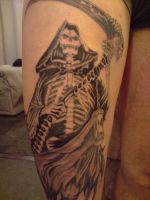 Reaper Tattoo by DREAMandDIFFER