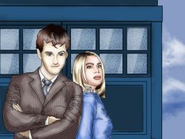 Doctor Who by tinanewtonart