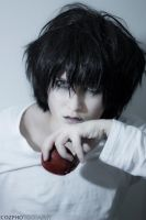 L - Death Note Cosplay test by ExtremeNikita