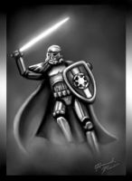 Jedi Storm Trooper by HannahNew