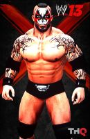 Moloch WWE 13 poster by ultimate-savage