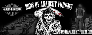 Sons Of Anarchy Forum Banner by BuddhaTeh1337