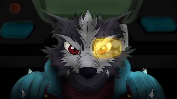 wolf (wacom) by Steve-the-defender