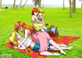 6 - A puffy family picnic by Yet-One-More-Idiot