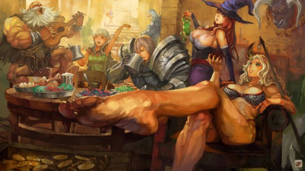 Dragon's Crown by Tuna-art
