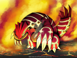 Pokemon Omega Ruby - Omega Groudon by SilverCrow95