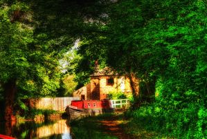 Moored at the Lock... by TheBaldingOne