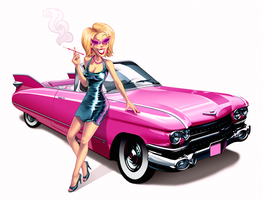 barbara and her sexmobile by hollietree