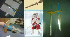Fate Zero - Clarent Sword by karlonne