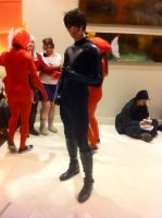 Anime Central 2014: Nightwing by GoodDokCosplay