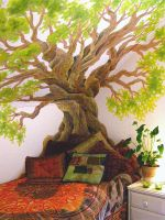 Tree Mural by Lhox