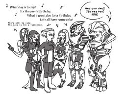 It's Shepard's Birthday by Nun-witta-Gun