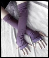 Twilight Shade Arm Warmers by ZenAndCoffee