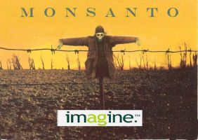 Monsanto scarecrow by po3ticTreachery