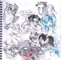 Sketches Dec 2013 by Sandora
