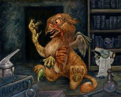 How Gryphons Are Made by ursulav