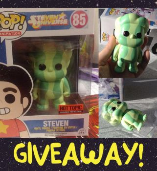 April Fool's Giveaway: Watermelon Steven FUNKO by dou-hong