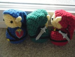 Adult Link Legend of Zelda Amigurumi Dolls by ChibiSayuriEtsy