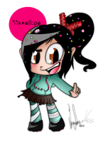 Vanellope Collab by Syico