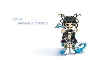 Madame Butterfly - Kinomi by ZOE-Productions