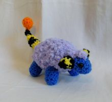 Shiny Mareep ami by gwilly-crochet