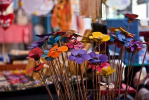 Deco Flowers by MetallerLucy