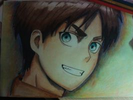 Eren Yeager by darkpony145