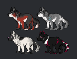 Adoptables by Rinermai