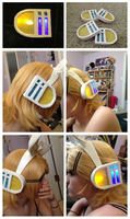 Kagamine Headset by SoraPro