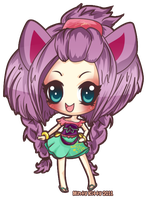 Iris for Chocomio by Minty-Kitty-Art