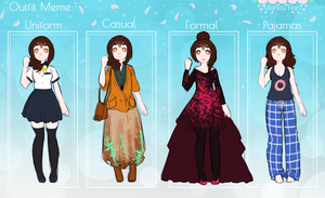 MF - Outfit Meme Aruna by voicelesss
