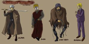 Assassin Assassin Redesigns by ccs1989